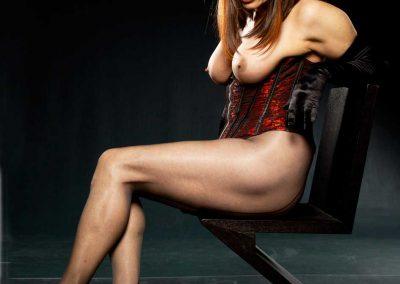 Sexy Mistress In The Dark Basement