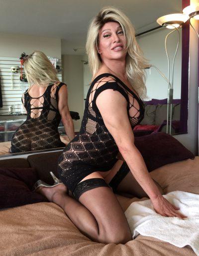 TSDee Black Fence Net Dress IMG 0833 Edited