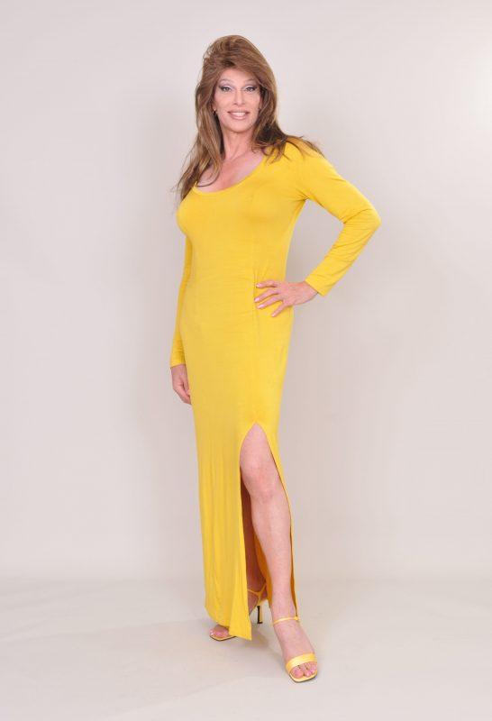 TSDee Yellow Evening Dress RCP 5231