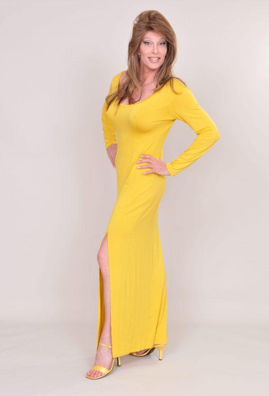 TSDee Yellow Evening Dress RCP 5242