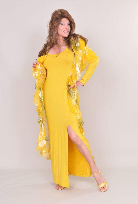 TSDee Yellow Evening Dress RCP 5261