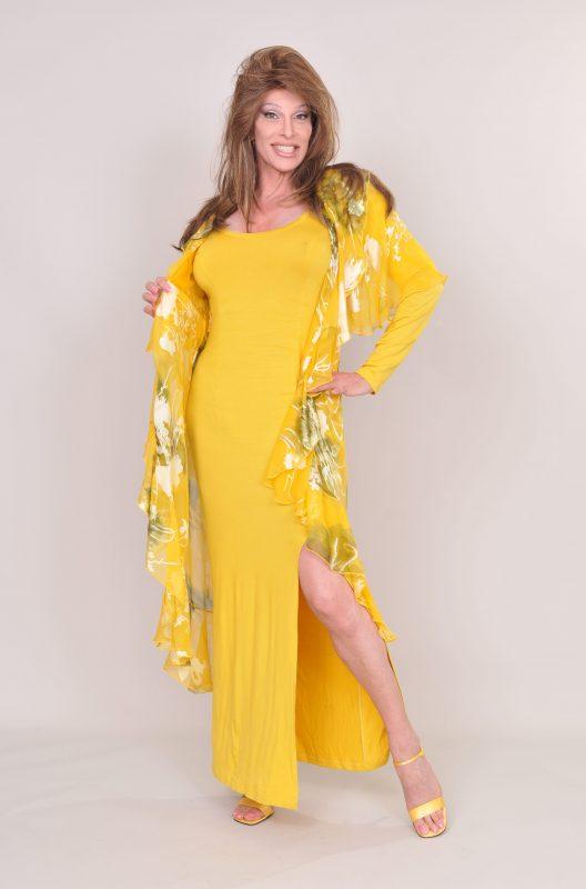 TSDee Yellow Evening Dress RCP 5264