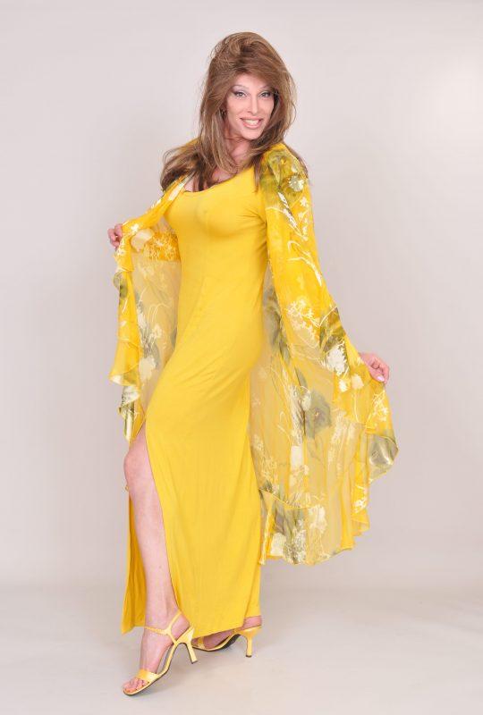TSDee Yellow Evening Dress RCP 5278