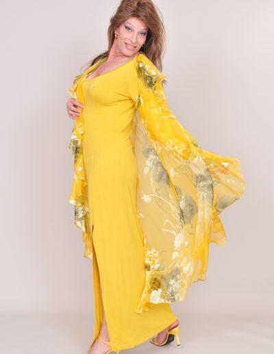 TSDee Yellow Evening Dress RCP 5297